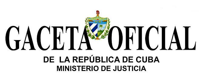0820  Gaceta Oficial de Cuba