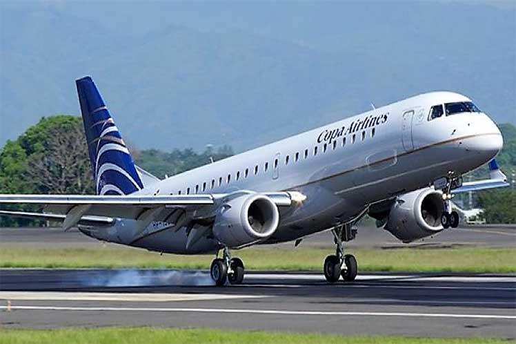 Aerolinea Copa avion