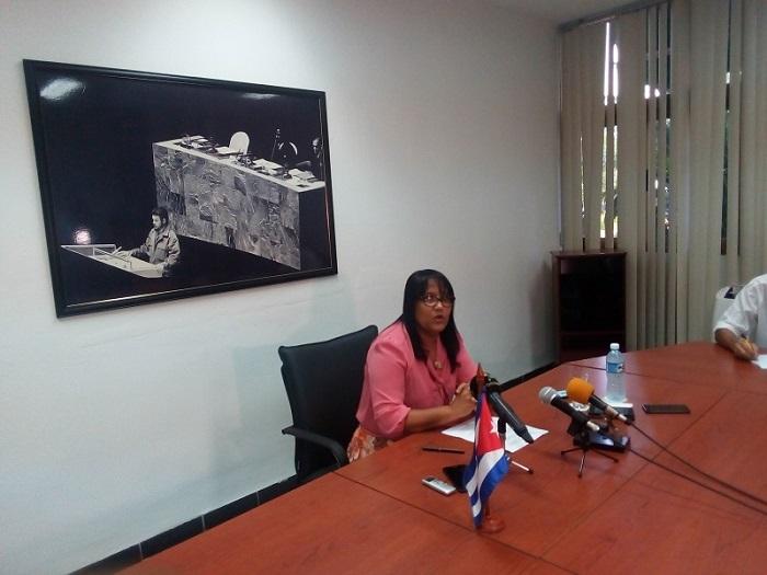 Anyansi Rodriguez Viceministra MINREX 2019