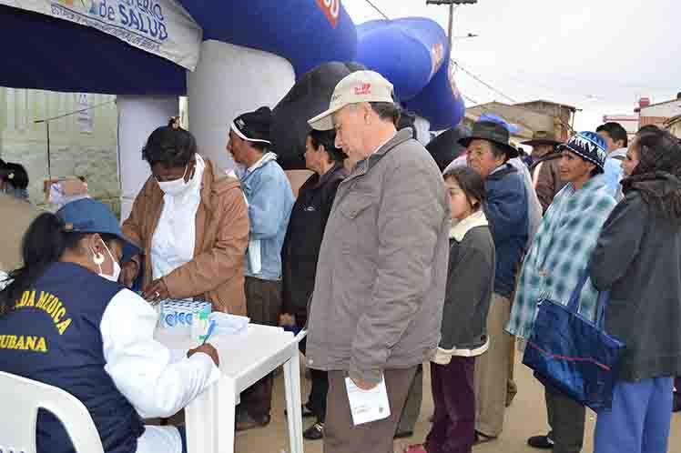 Bolivia medicos cubanos