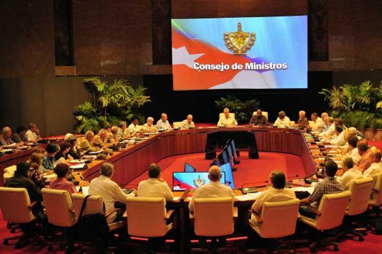 Cuba Consejo Ministros