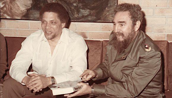 Fidel y Leland el 16 de enero de 1985 580x330