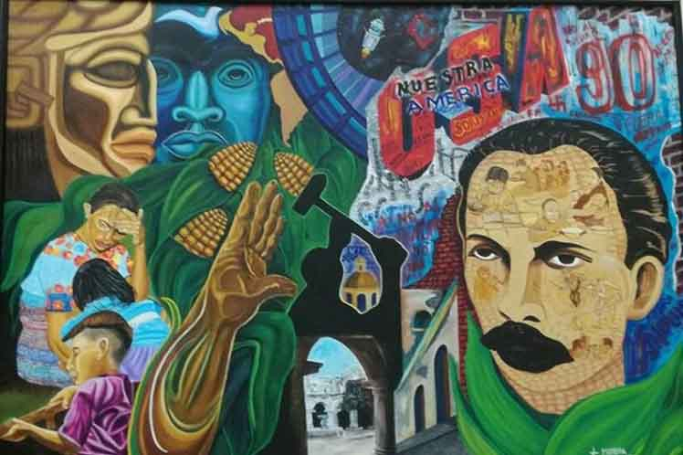 Guatemala homenaje Marti