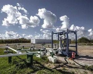 Pozo de petroleo compania rusa en Boca de Jaruco 300x239