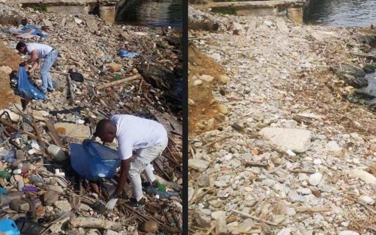 Trash Challenge en Cuba