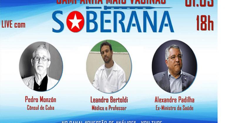 campana en brasil para compra de vacuna anticovid 19 de cuba