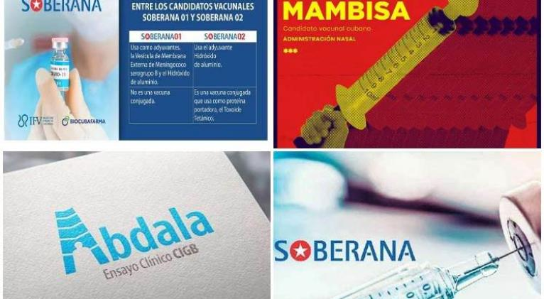 cuatro candidatos vacunas cuba covid19