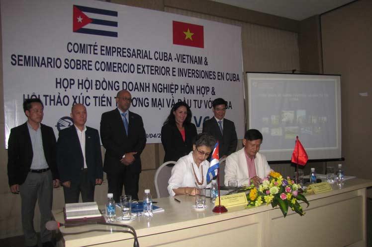 cuba vietnam acuerdo