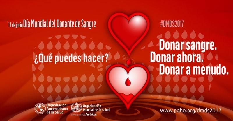 dia mundial donante sangre