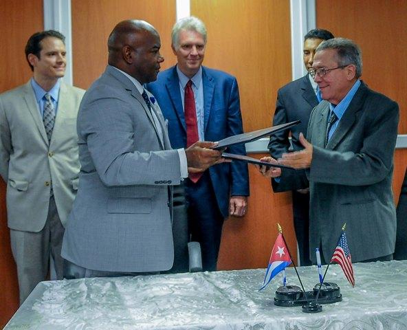 firman cuba estados unidos memorando entendimiento actividad portuaria