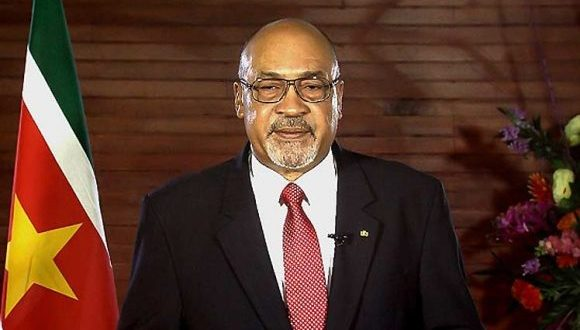 Surinamese President starts official visit to Cuba today