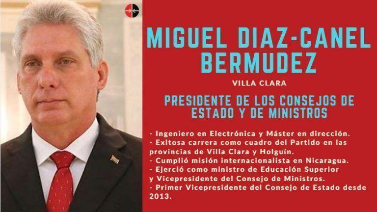 Felicita EPN a nuevo Presidente de Cuba