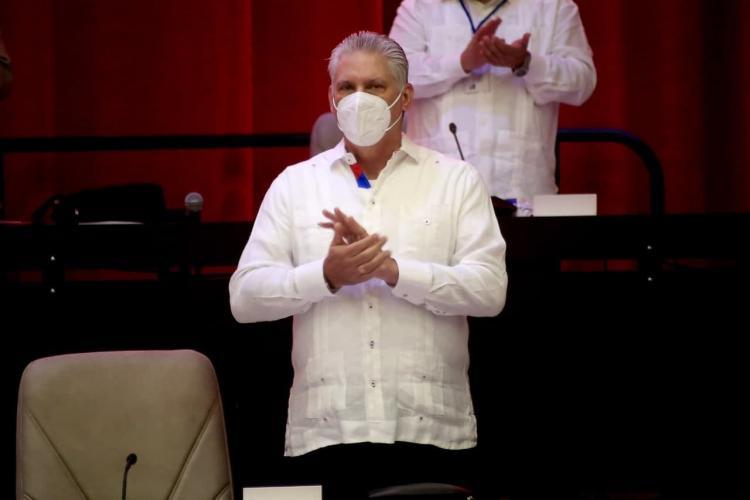 Presidente de la República Miguel Díaz-Canel Bermúdez