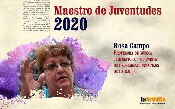 Maestros de Juventudes 2020 / Foto: La Jiribilla.