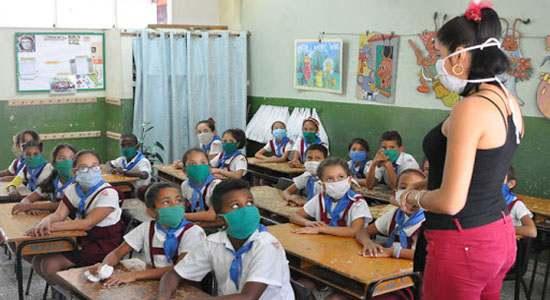 Según comportamiento epidemiológico, posible reinicio del curso escolar presencial en septiembre en Cuba