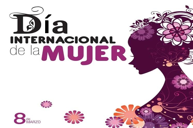 Banner alegórico al Día Internacional de la Mujer