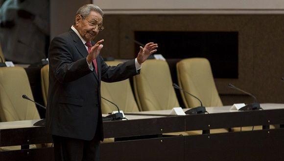 raul en la novena legislatura del parlamento cubano