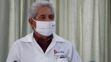 doctor Francisco Durán, director nacional de Epidemiología