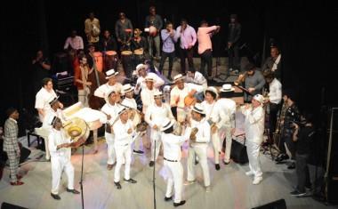 Presentación de lujo en Santiago de Cuba con la fusión de jazz, rumba y conga