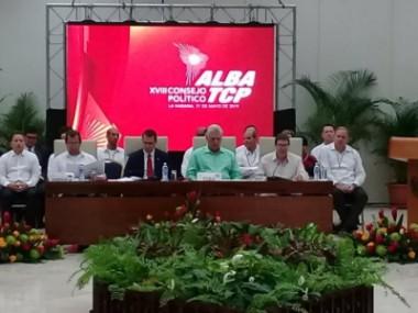 Países miembros de ALBA-TCP aprueban declaración política en La Habana