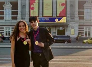 Un premio en Ámsterdam para los cubanos Rodrigo García Ameneiro y Tania Haase