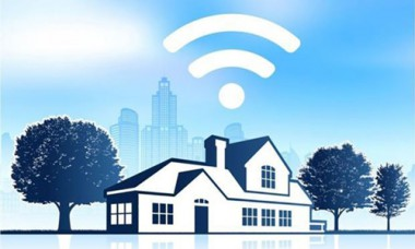 Imagen alegórica a Internet en los hogares.