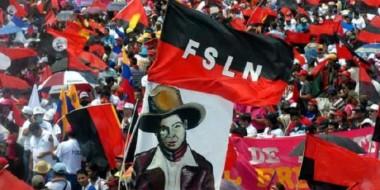 Pueblo y bandera del FSLN