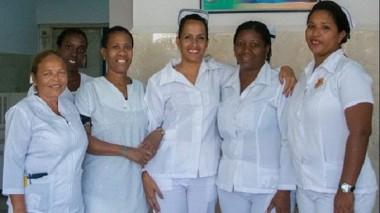 Las enfermeras que cuidaron a Mailén