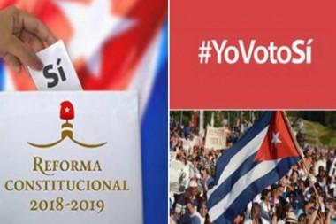 Banner alegórico a la Campaña Yo Voto Sí