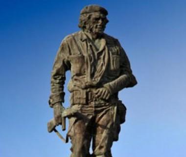 Escultura del Che