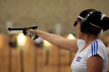 Tiradora cubana Tania Pérez