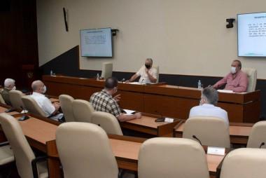 reunión del grupo temporal de trabajo para la prevención y control del nuevo coronavirus