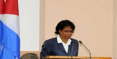 Inés María Chapman,Presidenta Instituto Cubano de Recursos Hidráulicos