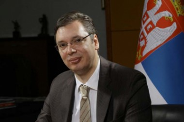 El presidente de la República de Serbia, Aleksander Vucic