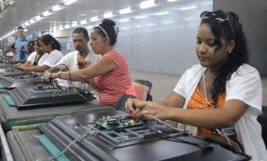 Trabajadoras cubanas
