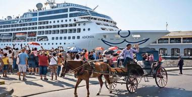 crecimiento en arribo de cruceros a La Habana
