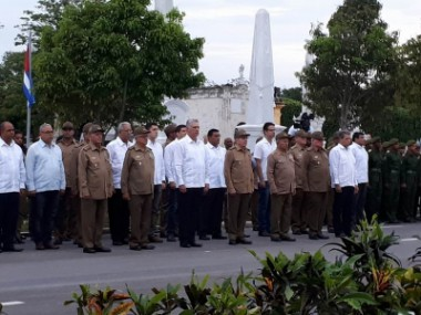 Raúl y Díaz-Canel presiden homenaje a Máximo Gómez