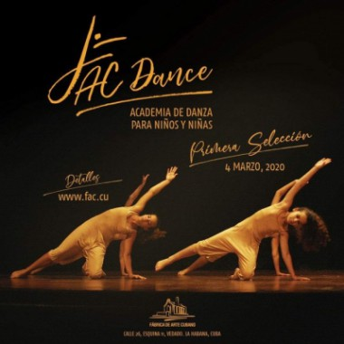 Convoca Fábrica de Arte a nueva academia de danza para niños