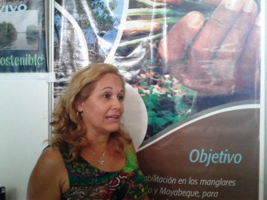 Marisol Marcheco, especialista en Desarrollo Local del Citma