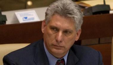 presidente cubano, Miguel Díaz-Canel Bermúdez