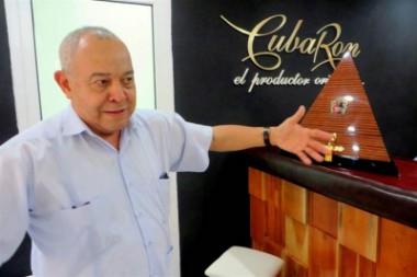 Directivo de la Corporación Cuba Ron