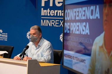 viceprimer ministro y titular de Economía y Planificación, Alejandro Gi