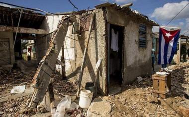 Parte de los destrozos que dejó el huracán. Foto: Ismael Francisco/ Cubadebate.