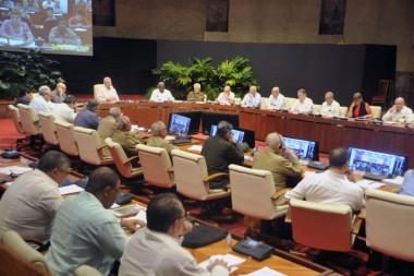 Se reunió Consejo de Ministros para evaluar marcha de la economía, el comercio exterior y otros importantes temas