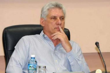 presidente de los Consejos de Estado y de Ministros de Cuba, Miguel Díaz-Canel Bermúdez