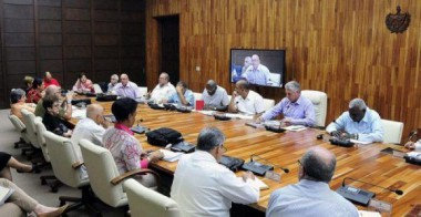 reunión del Grupo Gubernamental de Apoyo a la capital