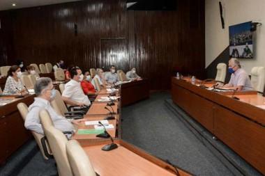 Presidente cubano, Miguel Díaz-Canel