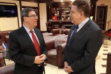 Canciller cubano inicia visita oficial a Rusia