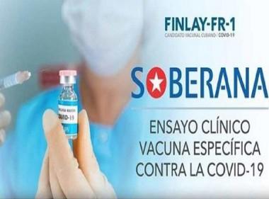 Cuba inscribe nuevo estudio clínico de vacuna contra la Covid-19