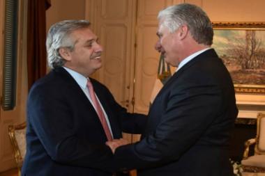 Concluye presidente cubano Miguel Díaz-Canel visita a Argentina